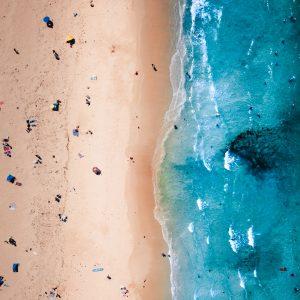 Sorento Beach Drone Photo