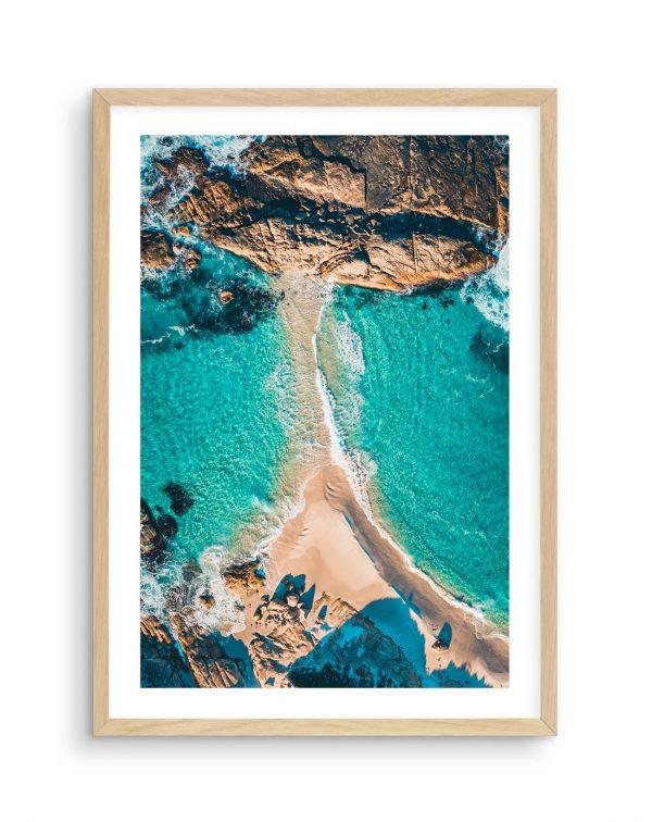 Drone Photo Lights Beach